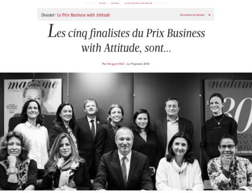 La Fabrique de la Danse, finaliste du Prix Business with Attitude de Madame Figaro !